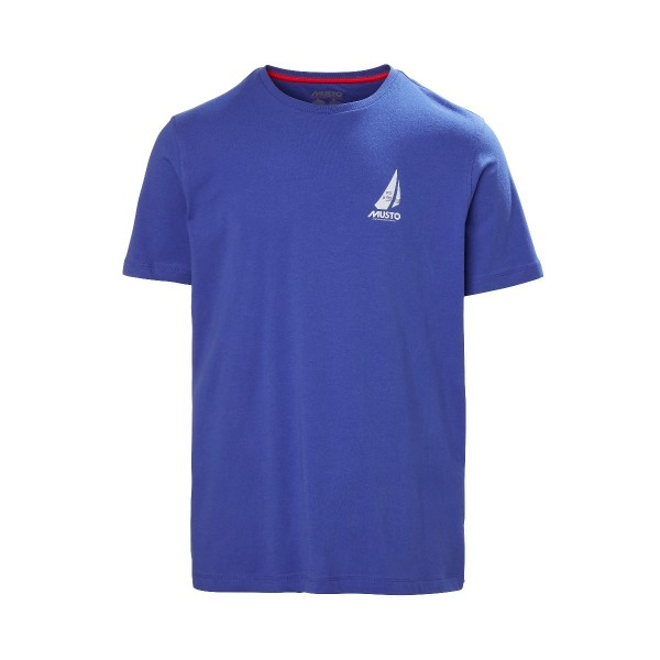 Musto Photographic T-Shirt Marine Blue