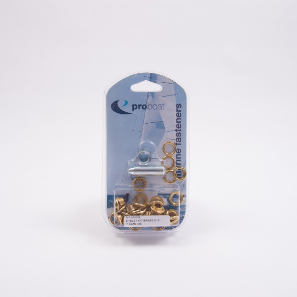 Eyelet Kit Brass 10 Pack