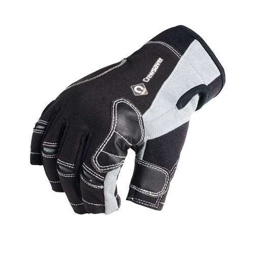 Crewsaver Short Finger Glove Black Junior