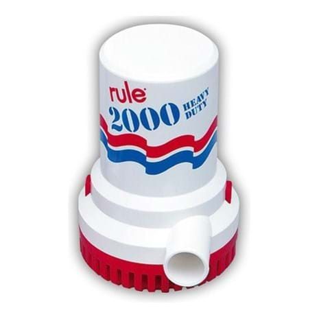 Rule 2000GPH 24v Bilge Pump