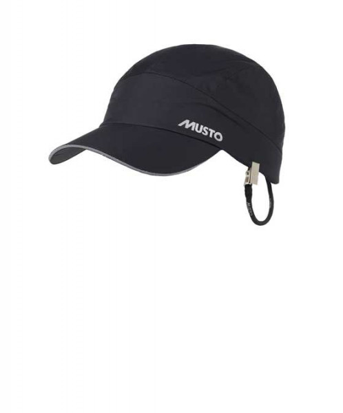 Musto Waterproof Performance Cap Fleece Lined Black