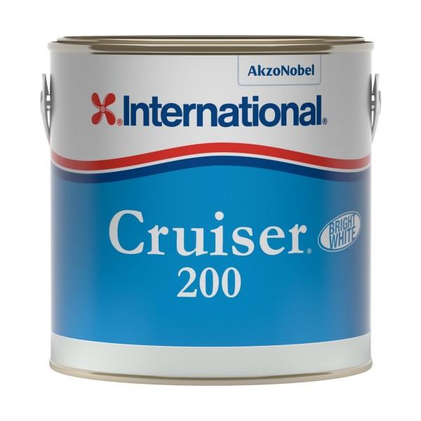 International Cruiser 200 Antifouling White 2.5L