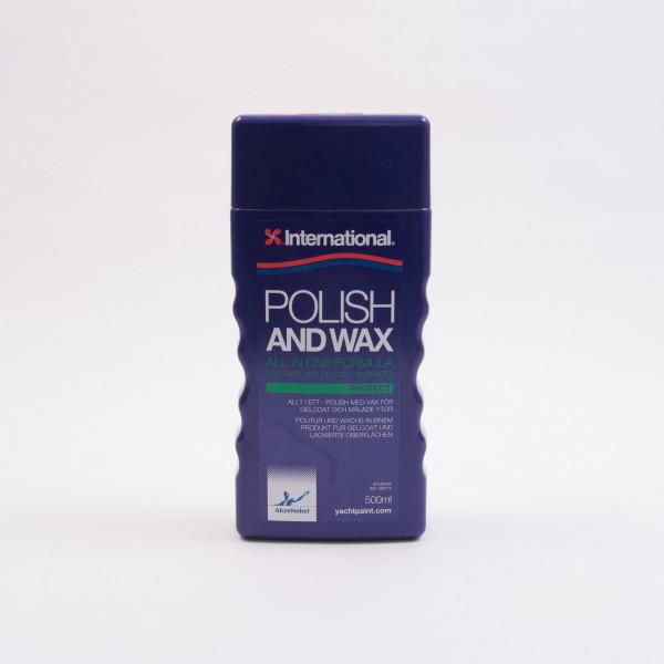 International Polish and Wax 500ml