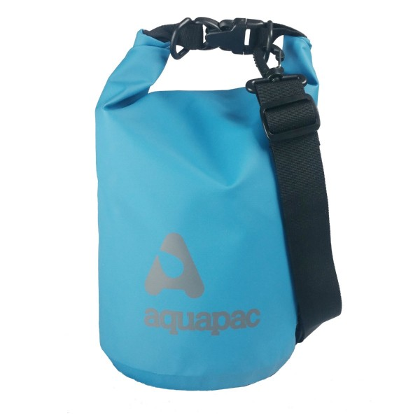 Aquapac Waterproof TrailProof Drybag 7L With Shoulder Strap Cool Blue - 732