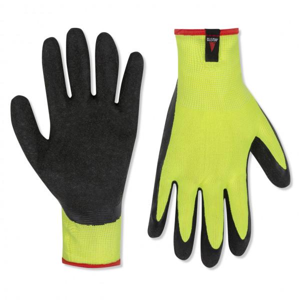 Musto Dipped Grip Sailing Glove 3pk Sulphur Spring/Black 80100