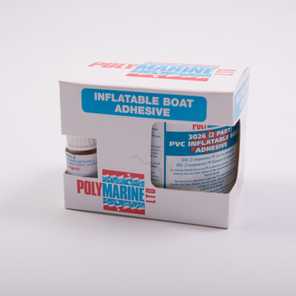 Adhesive PVC 2 Pack Inflatable Boat Repair
