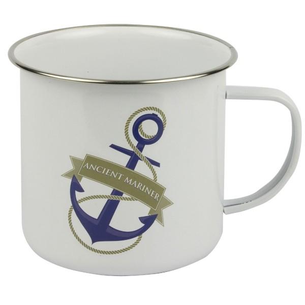 Tin Mug Ancient Mariner