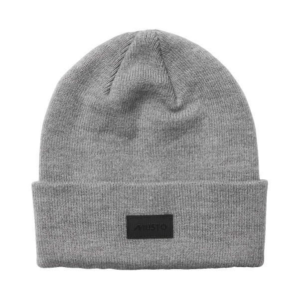 Musto Shaker Cuff Beanie Hat Grey Marl 86015