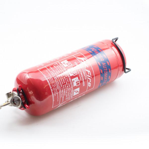 Fire Extinguisher Auto Powder 2kg Manufactured 2015