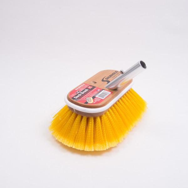 "Brush Yellow Soft Flagged 6"" Shurhold"
