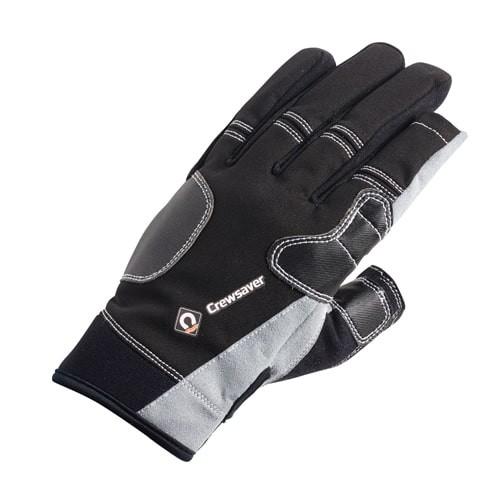 Crewsaver Three Finger Glove Black Junior
