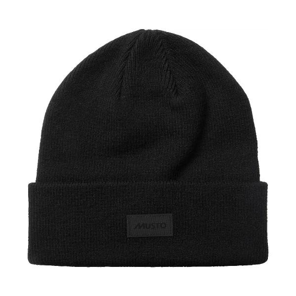 Musto Shaker Cuff Beanie Hat True Black 86015