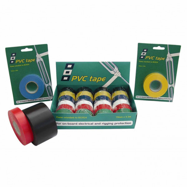 PVC Tape 19mm x 20m