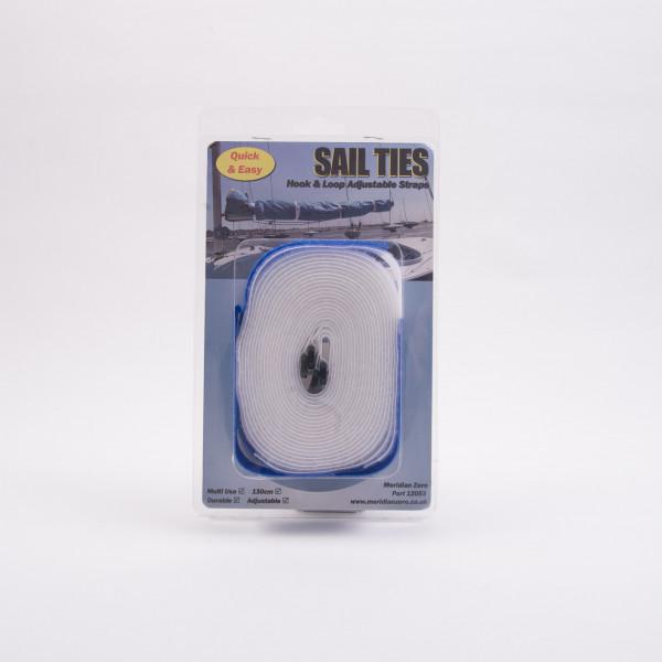 Sail Ties Hook & Loop Adjustable