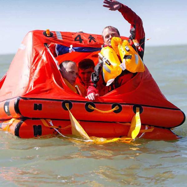 Crewsaver ISO Ocean Liferaft over 24hr Valise