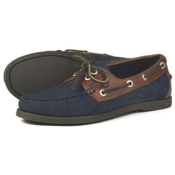 Orca Bay Oakland Ladies Navy/Oak Deck Shoe