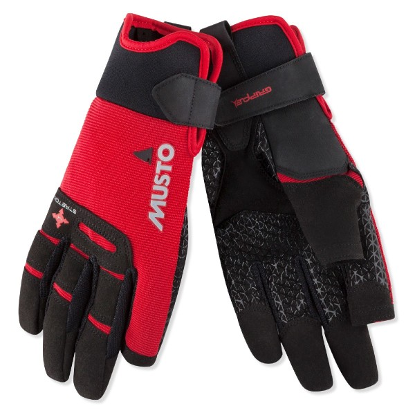 Musto Performance Long Finger Sailing Glove True Red 80103