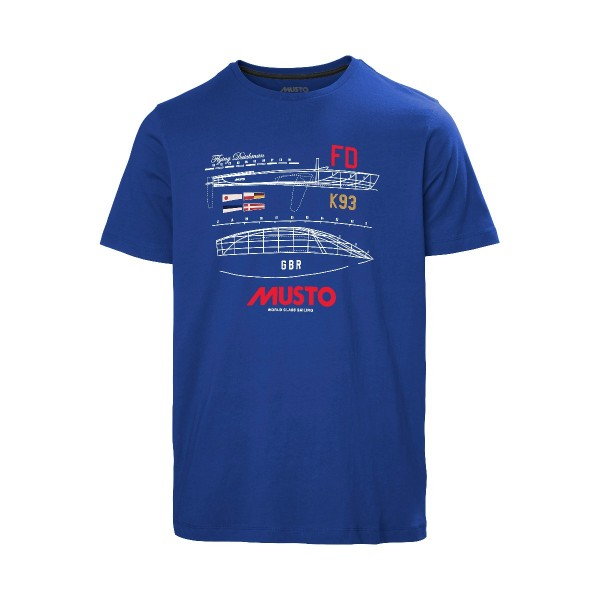 Musto Flying Dutchman T-Shirt Marine Blue