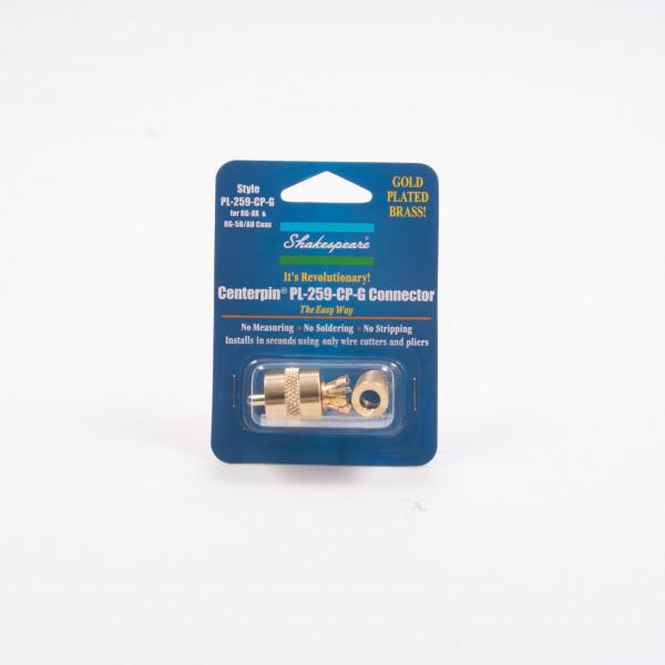 PL259 Solderless Centrepin Plug