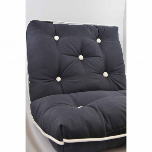 Kapok Cushion Double Navy