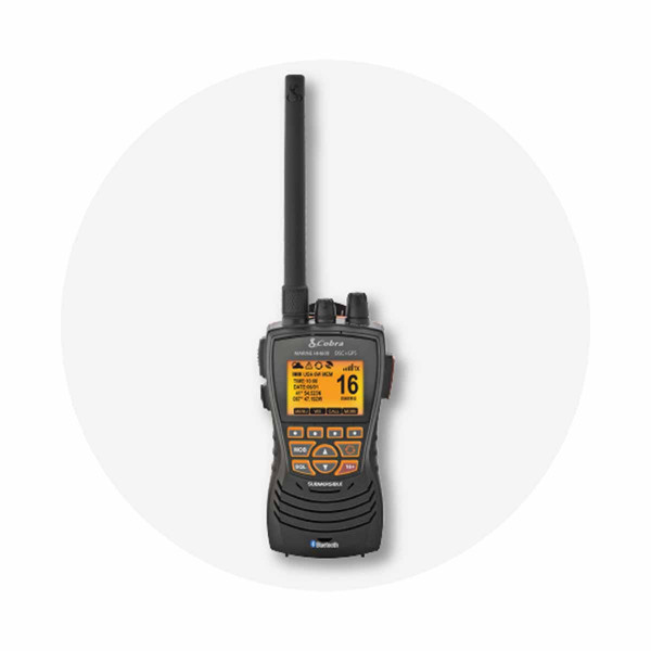 Cobra MR HH600E DSC Handheld VHF Radio