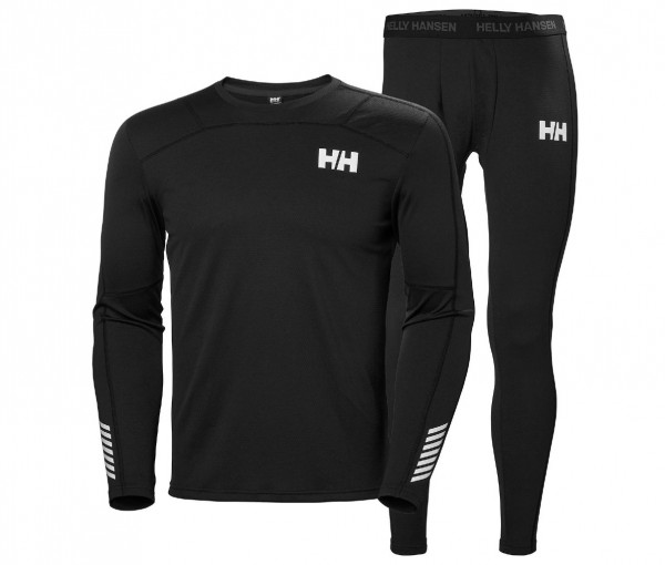 Helly Hansen Lifa Active Base Layer Set Black 48311