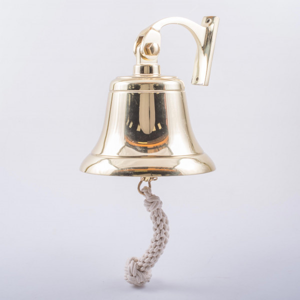 Davey and Co. Bell and Bracket Polished Brass