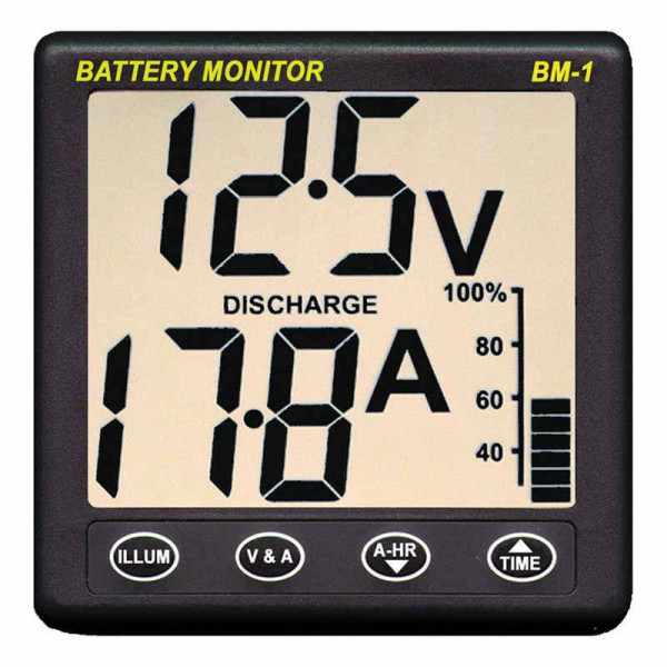 NASA Battery Monitor BM-1 12v