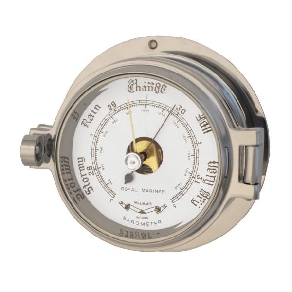Royal Mariner Channel Barometer Polished Chrome